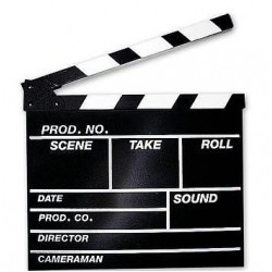 Clapperboard Hollywood M
