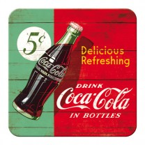 Suport de pahar - Coca Cola Refreshing Green