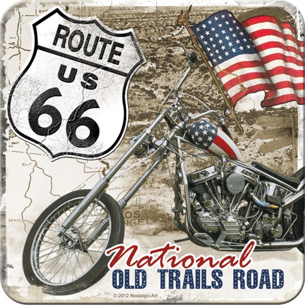 Suport de pahar route 66 desert old trails for Route 66 garage metz