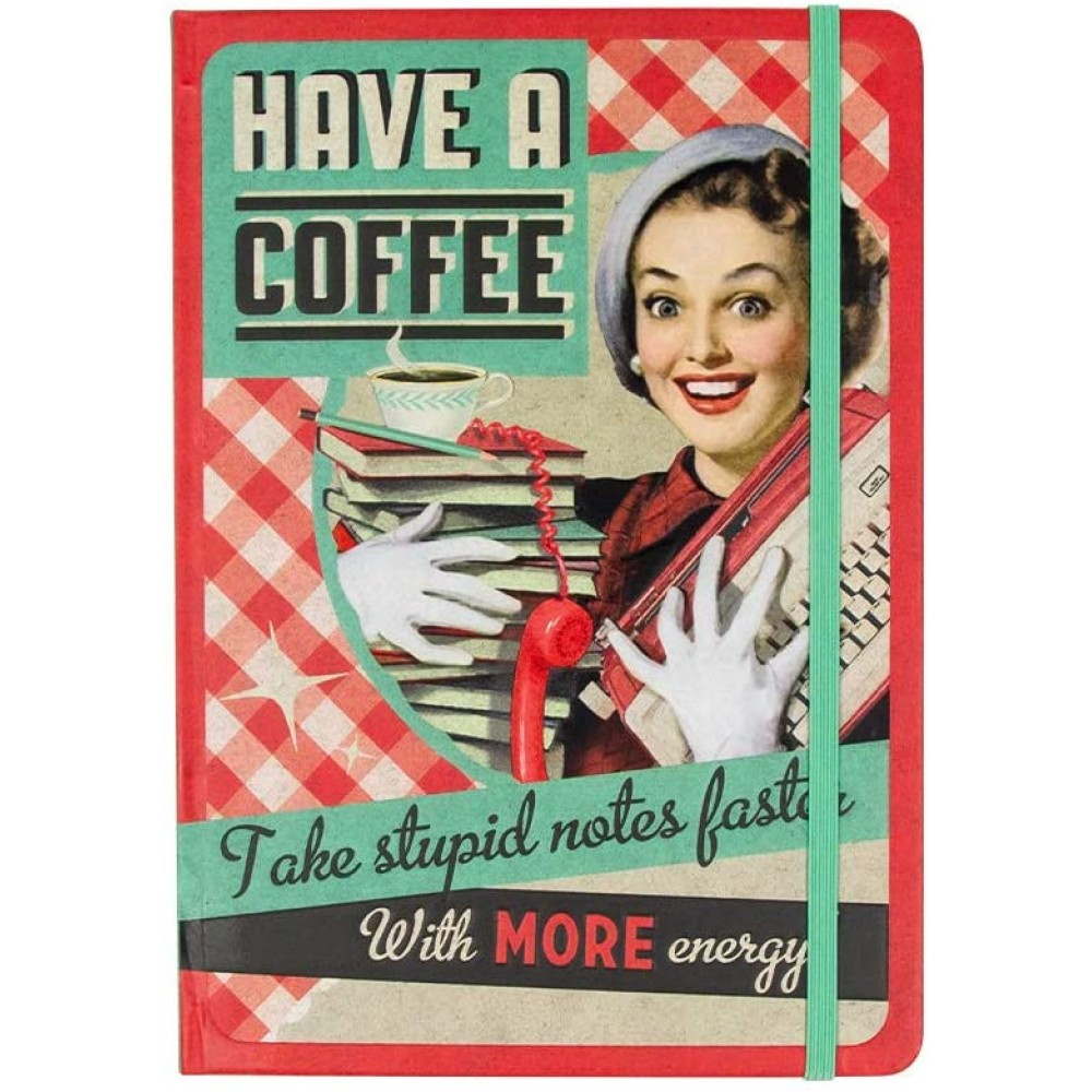Agenda A5 - Say it 50's - Have A Coffee