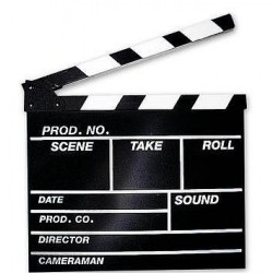 Clapperboard Hollywood L