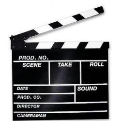 Clapperboard Hollywood L