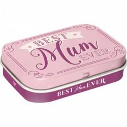 Cutie metalica cu bomboane - Best mum