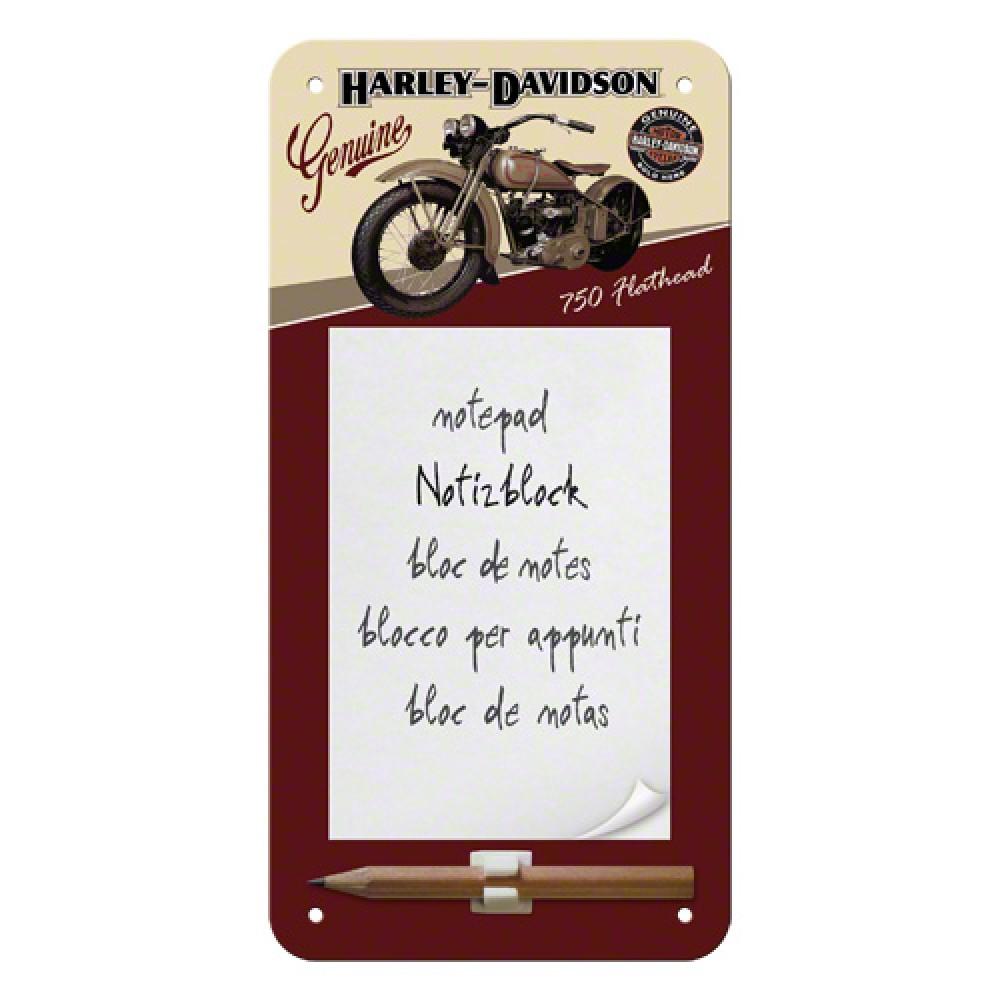 Blocnotes magnetic - Harley Davidson