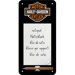Blocnotes magnetic - Harley Davidson Logo