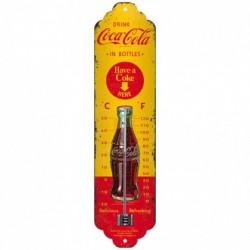 Termometru metalic - Coca Cola In Bottles
