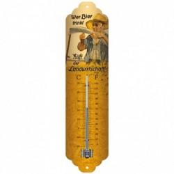 Termometru metalic - Wer Bier
